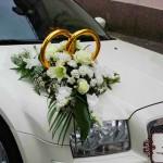 Украшения свадебных автомобилей