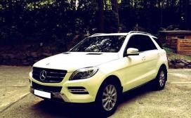 Аренда Mercedes Benz ML в Харькове на свадьбу или торжество
