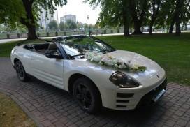 Аренда кабриолета Mitsubishi Eclipse на свадьбу