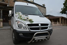 Аренда DODGE Sprinter на свадьбу