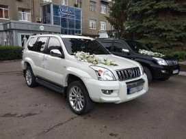 Аренда Toyota Land Cruiser Prado с водителем