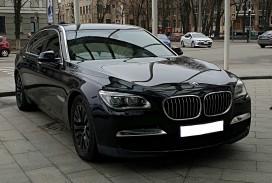 Аренда BMW 7 серии 2016 на свадьбу в Харькове