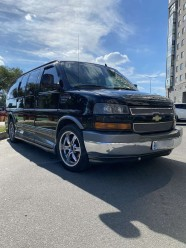 Прокат CHEVROLET Express Limited на свадьбу