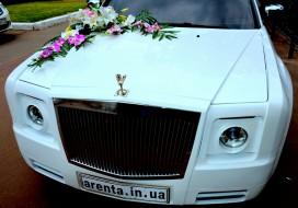 Свадебное украшение для Rolls Royce Fantom