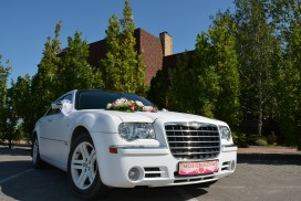 Прокат Chrysler 300-C на свадьбу