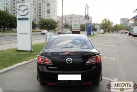 Mazda 6 черный.