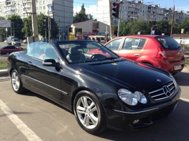 Mercedes С-Class Cabriolet.