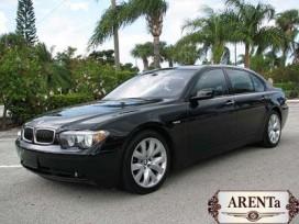BMW 7 черный.