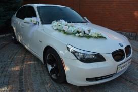 BMW 525 белая. Кузов-60
