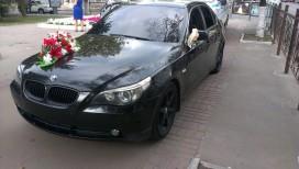BMW 525 черная. Кузов-60.