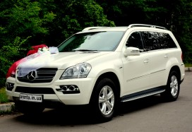 Mercedes GL белый.
