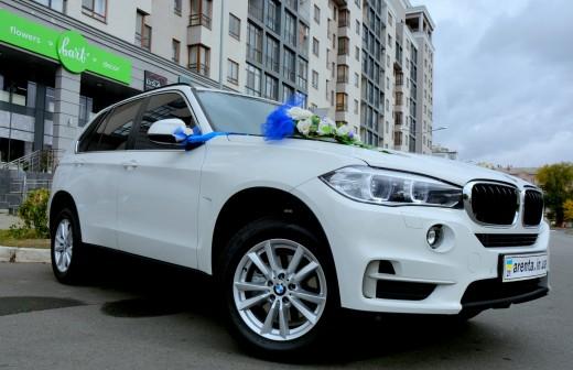 Прокат BMW x5 с водителем в Харькове