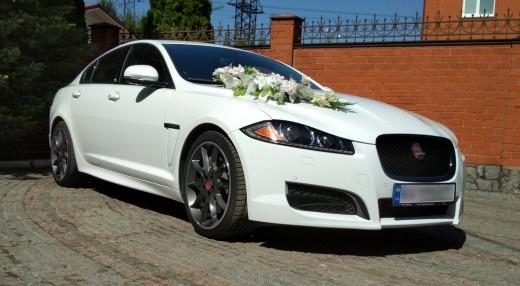 Прокат Jaguar XF на свадьбу