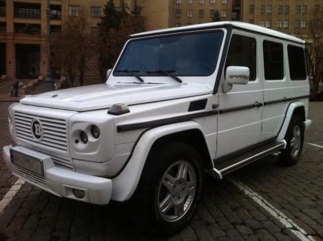 Прокат Mercedes-Benz Gelandewagen G 55 в Харькове