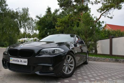аренда BMW 535 в кузове F10 на свадьбу