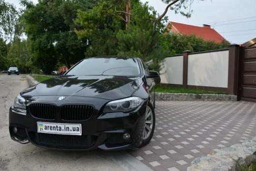 Аренда BMW 535 в кузове F10 на свадьбу в Харькове