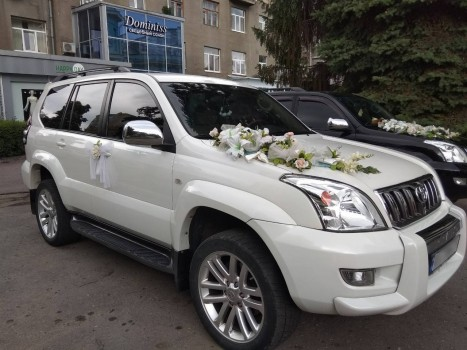 Прокат Toyota Land Cruiser Prado в Харькове