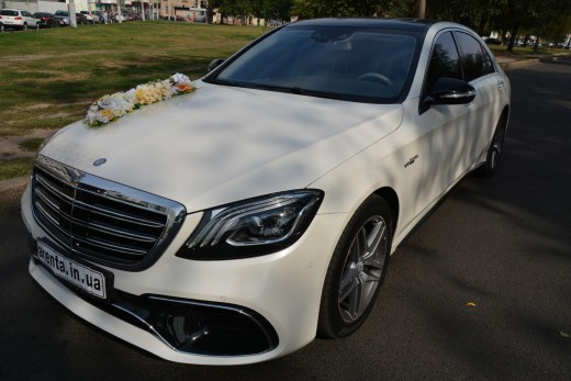 Заказ Mercedes-Benz W222 на День рождение