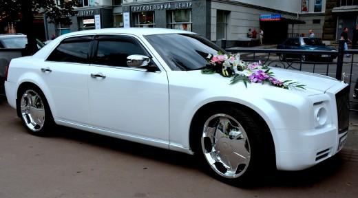 Аренда Rolls Royce Fantom на свадьбу