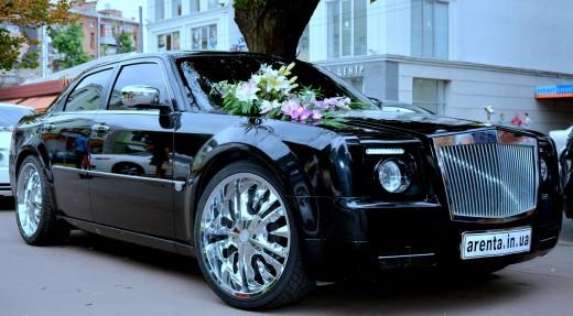 Аренда черного Rolls Royce Fantom в Харькове