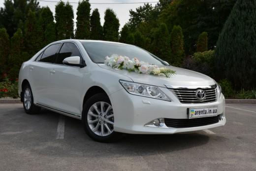Прокат Toyota Camry на свадьбу или день рождения