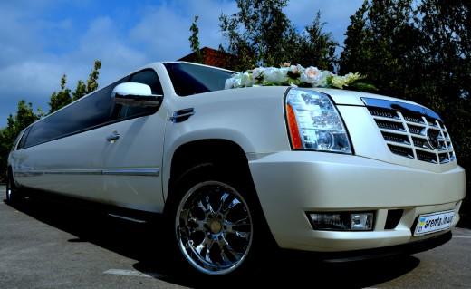 јренда Cadillac Escalade на свадьбу
