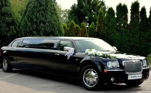 јренда лимузина Chrysler 300C на свадьбу