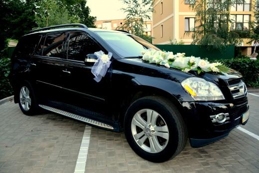 прокат Mercedes GL в Харькове на свадьбу или торжество