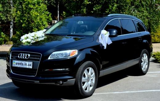 Прокат Audi Q7 в Харькове на свадьбу или торжество