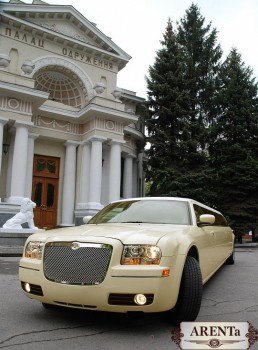 "Ћимузин Chrysler 300C слонова¤ кость. ј ÷»я!!!!!! """"ќ""Ќя…""≈."