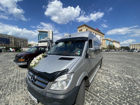 микроавтобус Mercedes Sprinter на свадьбу