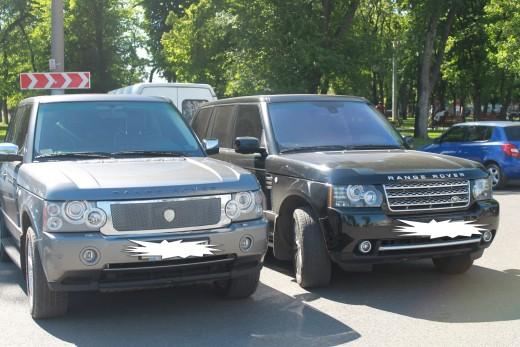 Range Rover Vogue.