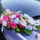 Украшения на свадебные авто